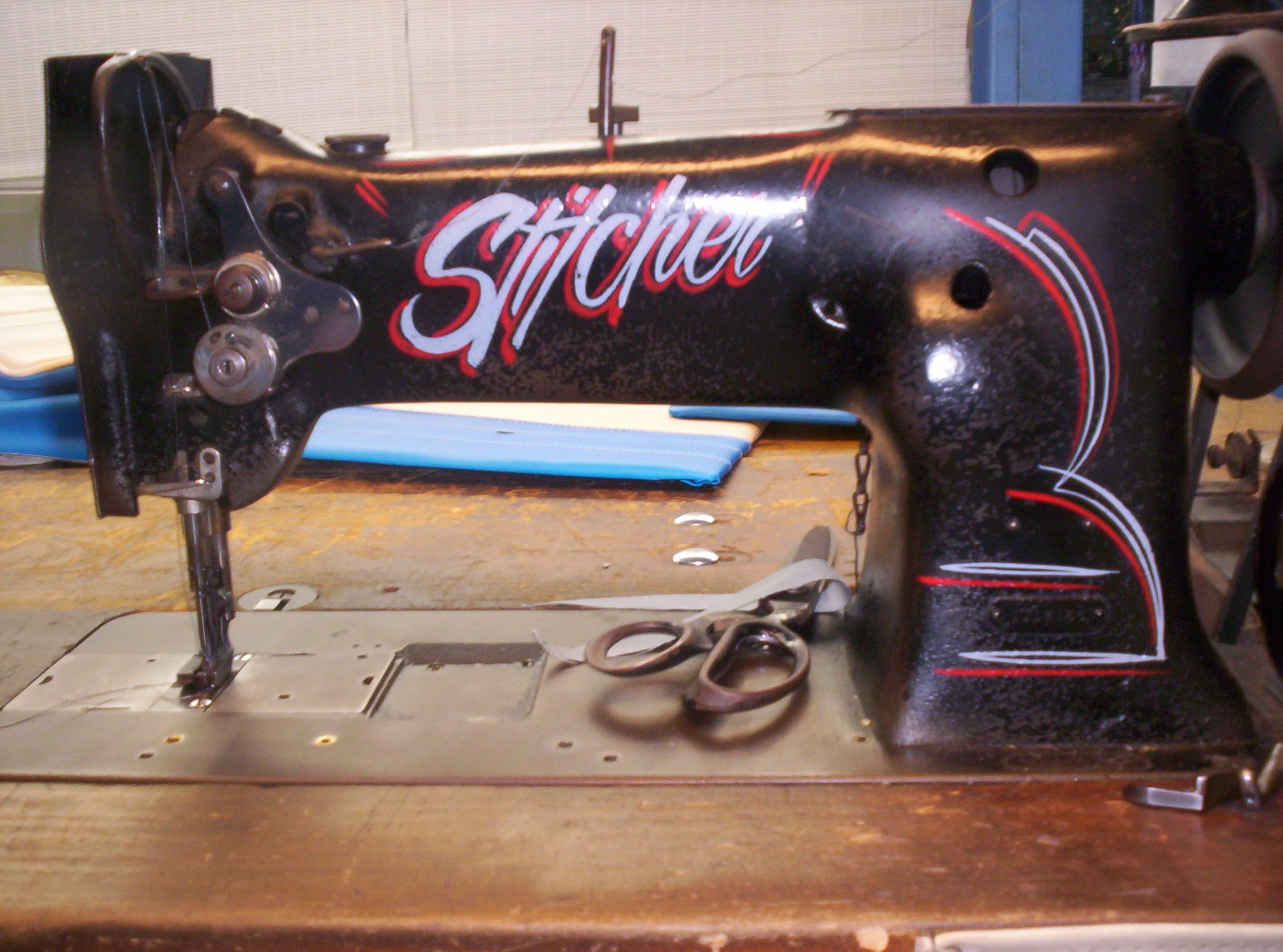 best sewing machine for automotive upholstery